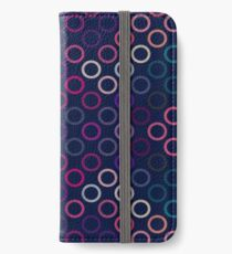 Colorful Circles II iPhone Wallet
