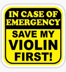 Save My Violin Sticker