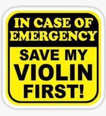 Save My Violin Sticker