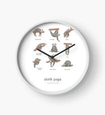 Sloth Yoga - The Definitive Guide Clock