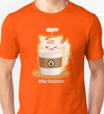 Purrista Pawfee: Salty Caramel Kitty Coffee Unisex T-Shirt