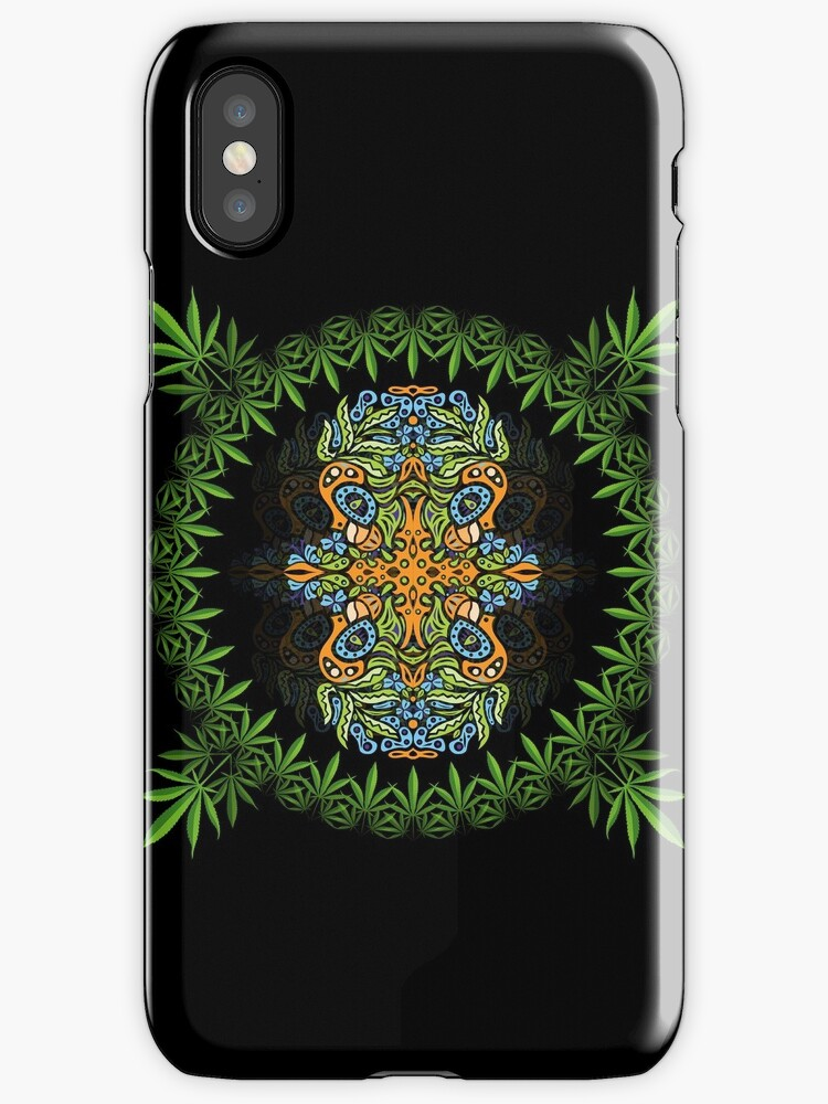 Psychedelic cannabis jungle spirit by Andrei Verner
