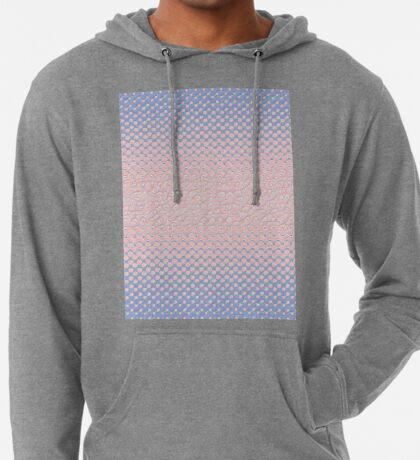 #DeepDream Color Circles Gradient Rose Quartz and Serenity 5x5K v1449298379 Lightweight Hoodie