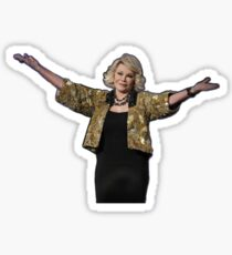 QUEEN OF COMEDY STICKER Sticker