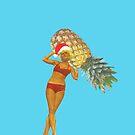 Pineapple Atlas - Christmas by Maz Dixon
