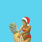 Pineapple Hug - Christmas by Maz Dixon