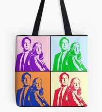 X-Files trifft Andy W Tote Bag