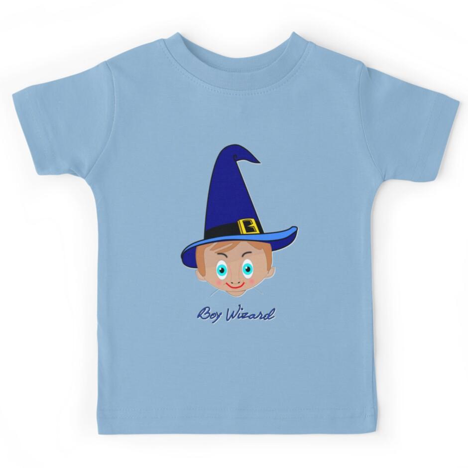 Design t shirt kid - Toon Boy 6 Wizard T Shirt Design By Dennis Melling