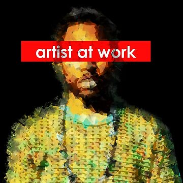 Frank - artist at work by Kuilz