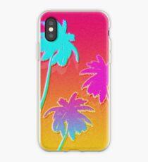 Hotline Palmtrees iPhone Case