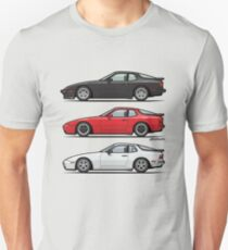 P 944 951 Turbo Trio Unisex T-Shirt