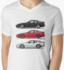 P 944 951 Turbo Trio Men's V-Neck T-Shirt