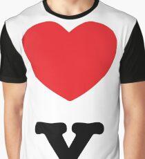 I LOVE NY COUPLE b Graphic T-Shirt