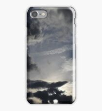 dark, light uk sky  iPhone Case/Skin