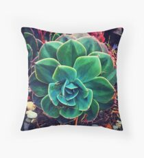 Stunning Succulent. Throw Pillow