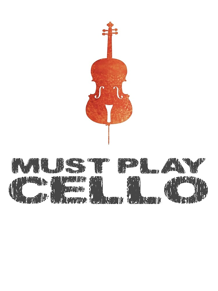 Must Play Cello by evisionarts