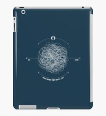 Time Travel Explained iPad Case/Skin
