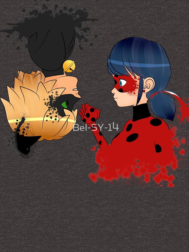 Ladybug y Chat noir by Bel-SY-14