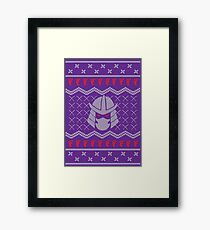 The Foot Clan Framed Print