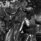 Statue Detail Hyde Park, Sydney by BRogers
