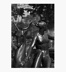 Statue Detail Hyde Park, Sydney Photographic Print