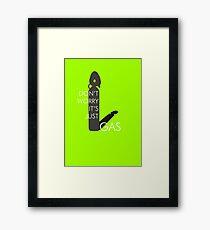UTOPIA - Gas Framed Print
