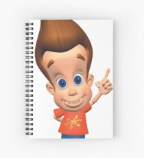 Jimmy Neutron Spiral Notebook