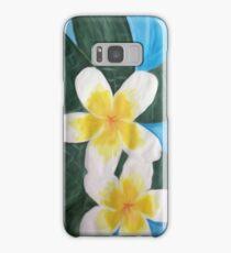 frangipanis Samsung Galaxy Case/Skin