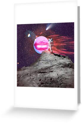 Astronaut kiss by mikath