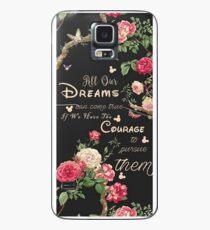 Alle unsere Träume können wahr werden Mickey Zitat des Tages Hülle & Skin für Samsung Galaxy