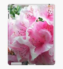 Pink Floral Blossoms iPad Case/Skin