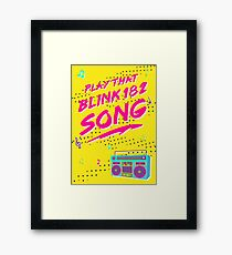 Play that Blink Framed Print