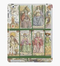 """cover of book with tarot cards (""""Tarot of the Master"""") iPad Case/Skin"""