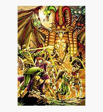 Dragon Attack Photographic Print