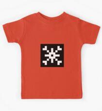 8-bit Snowflake Graphic Kids Tee