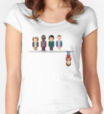 The Upside Down Women's Fitted Scoop T-Shirt