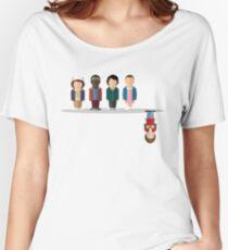 Camiseta ancha El revés