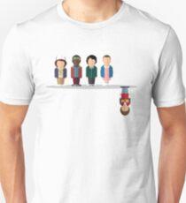 Der umgekehrte Slim Fit T-Shirt