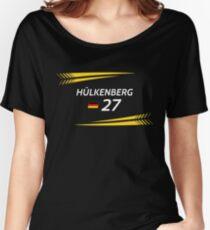 F1 2017 - #27 Hulkenberg [black version] Women's Relaxed Fit T-Shirt