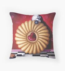 I'd Risk It For A Biscuit! Throw Pillow