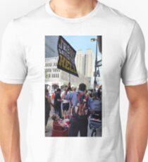 Teach Your Children / Rainbow Flower Bombed Unisex T-Shirt