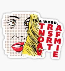 Erica Reyes — Transformative (Pop Art) Sticker
