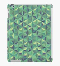 Cool green 3d triangular pattern iPad Case/Skin