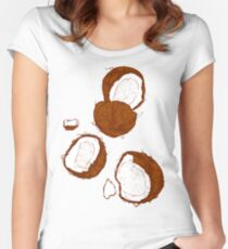 Coconut Women's Fitted Scoop T-Shirt