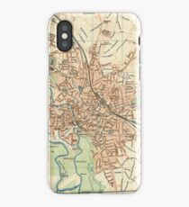 Vintage Map of Hanover Germany (1895) iPhone Case/Skin
