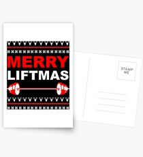 Merry Liftmas Postcards