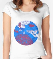 Coral reef Women's Fitted Scoop T-Shirt