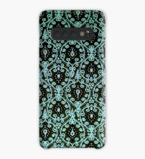 Paisley pattern in green Case/Skin for Samsung Galaxy