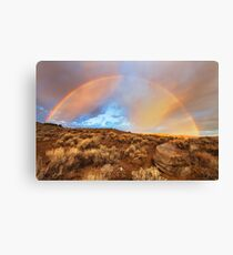 Sunrise Rainbow Canvas Print