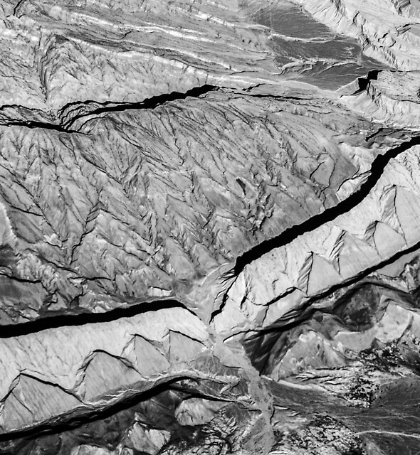 Afghanistan from above #3 by Michiel de Lange